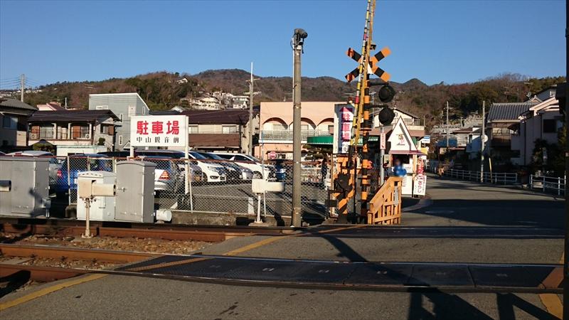 中山観音駅前駐車場