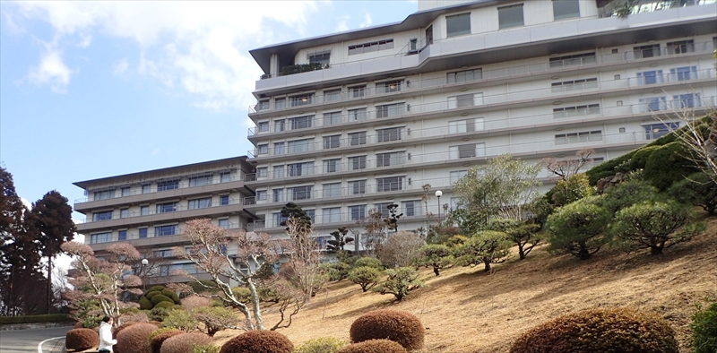 Arima Grand Hotel by walking